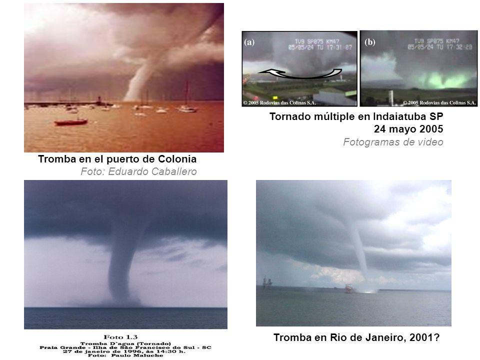 Tornado múltiple en Indaiatuba SP