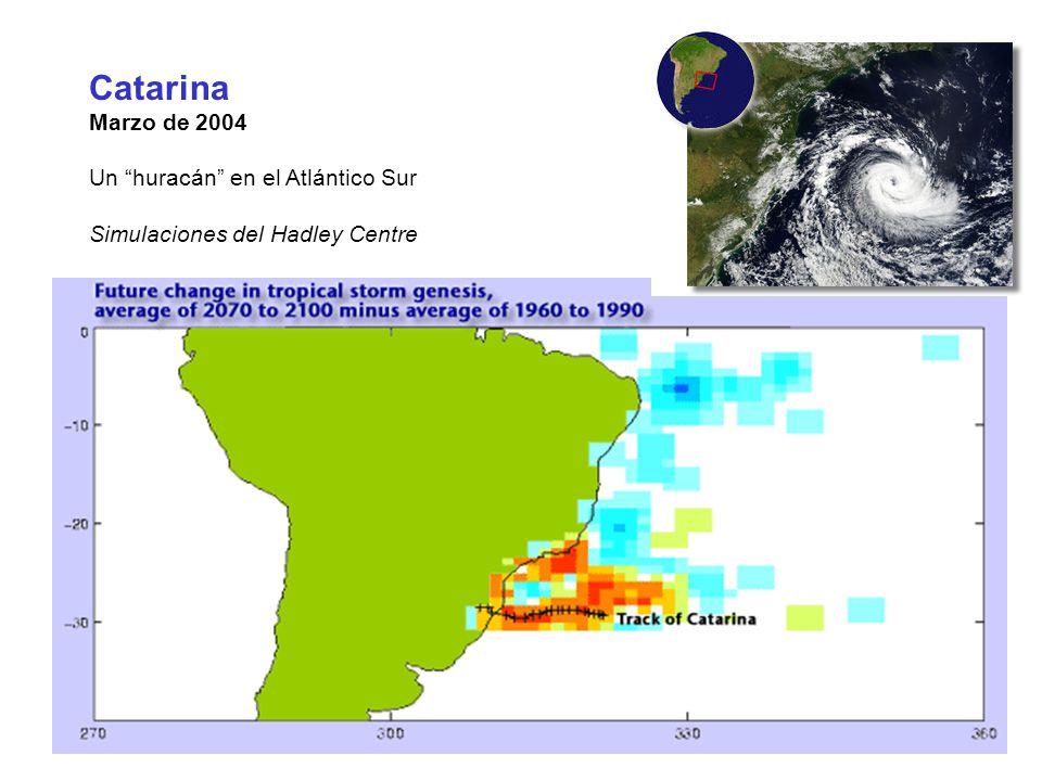 Catarina Marzo de 2004 Un huracán en el Atlántico Sur
