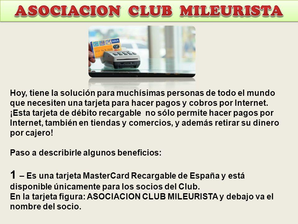 ASOCIACION CLUB MILEURISTA