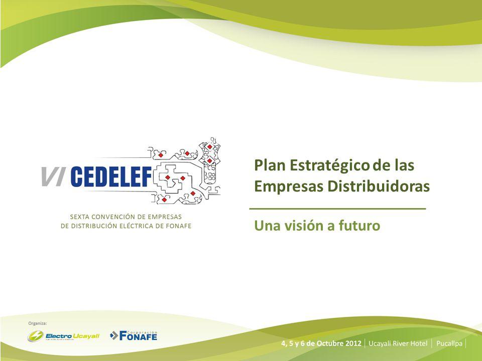 Plan Estratégico de las Empresas Distribuidoras