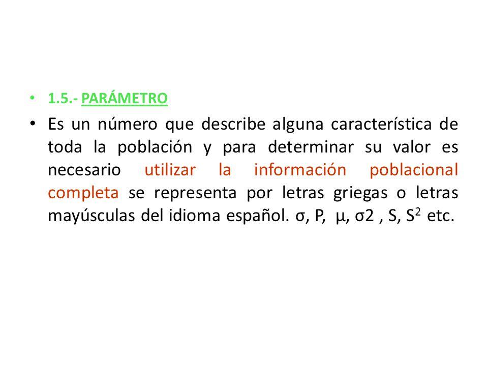 1.5.- PARÁMETRO