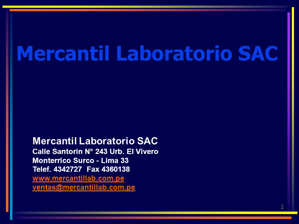 Mercantil Laboratorio SAC