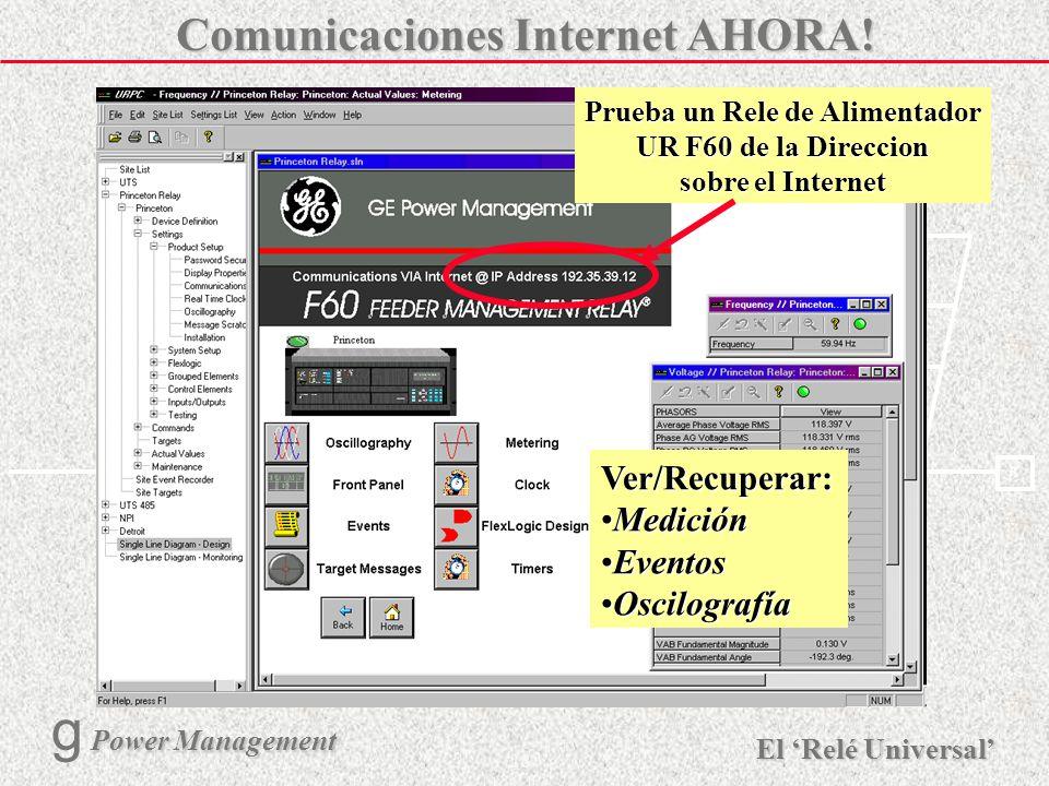 Comunicaciones Internet AHORA!