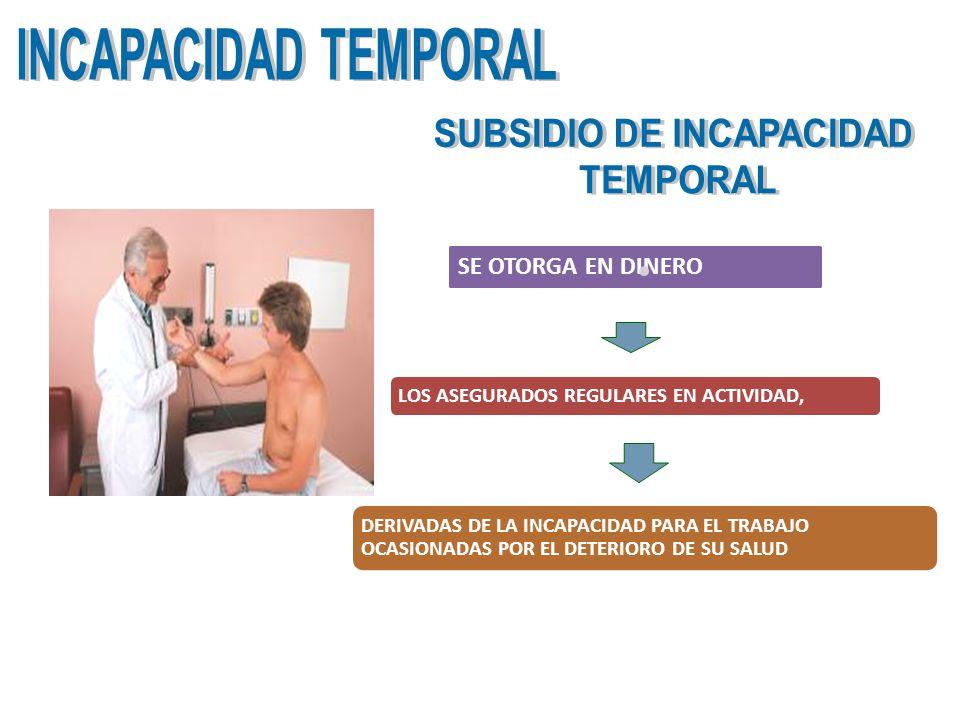 SUBSIDIO DE INCAPACIDAD