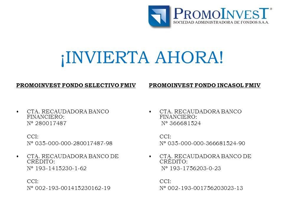 PROMOINVEST FONDO SELECTIVO FMIV