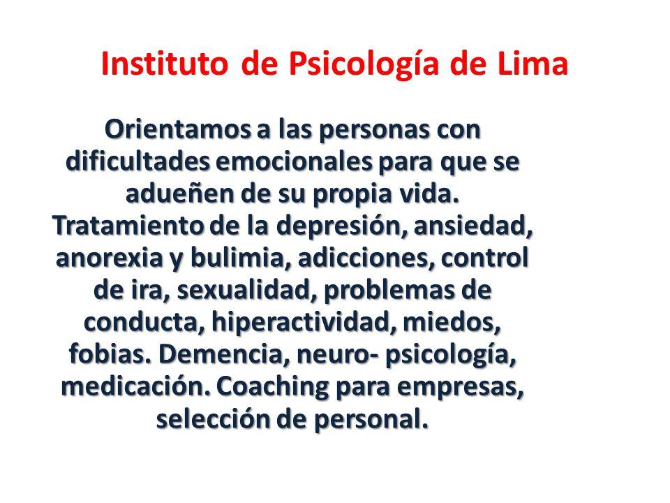 Instituto de Psicología de Lima