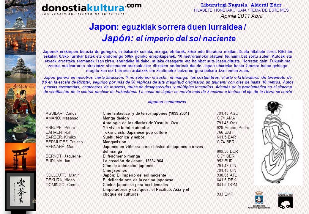 Japon: eguzkiak sorrera duen lurraldea /