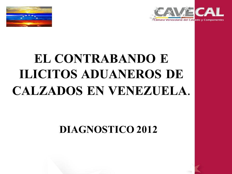 EL CONTRABANDO E ILICITOS ADUANEROS DE CALZADOS EN VENEZUELA.
