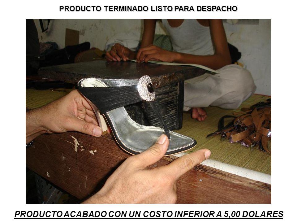 PRODUCTO ACABADO CON UN COSTO INFERIOR A 5,00 DOLARES