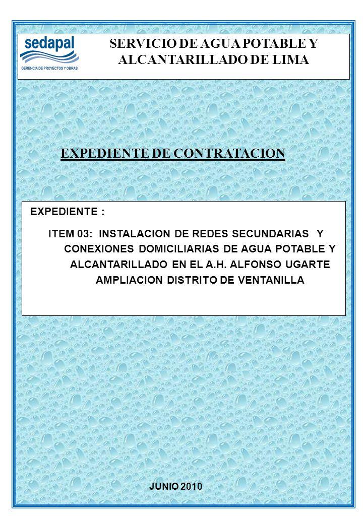 SERVICIO DE AGUA POTABLE Y ALCANTARILLADO DE LIMA