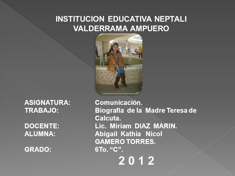 INSTITUCION EDUCATIVA NEPTALI VALDERRAMA AMPUERO