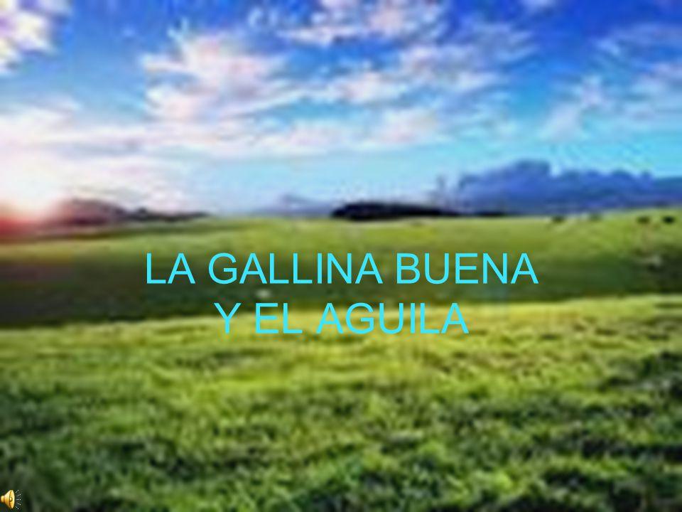LA GALLINA BUENA Y EL AGUILA