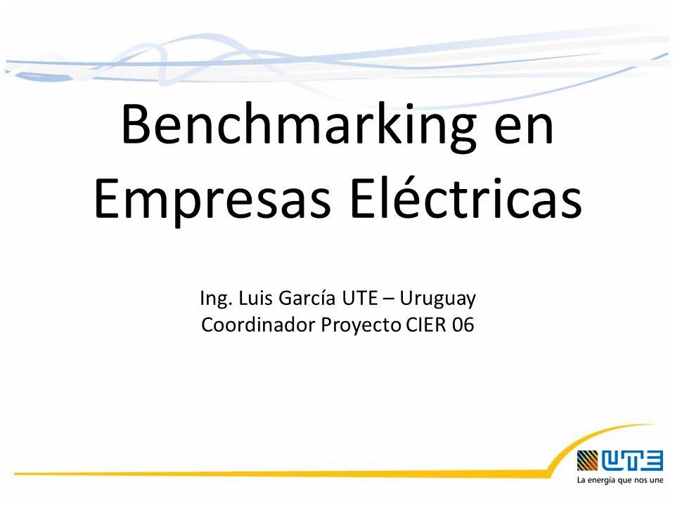 Benchmarking en Empresas Eléctricas Ing