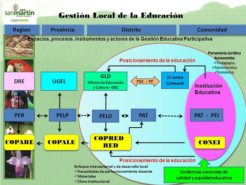 Gestión Local de la Educación