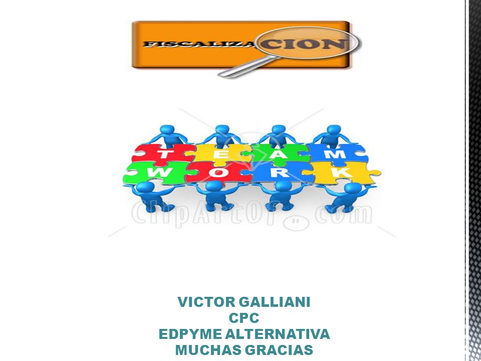 VICTOR GALLIANI CPC EDPYME ALTERNATIVA MUCHAS GRACIAS