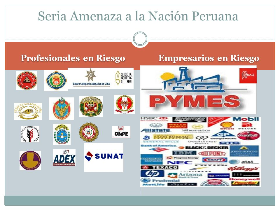 Seria Amenaza a la Nación Peruana