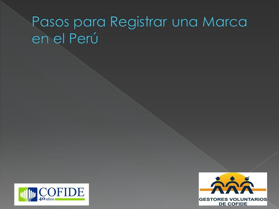 Pasos para Registrar una Marca en el Perú