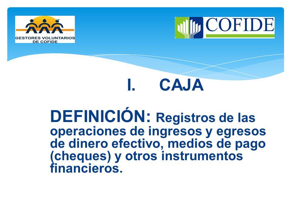 I. CAJA