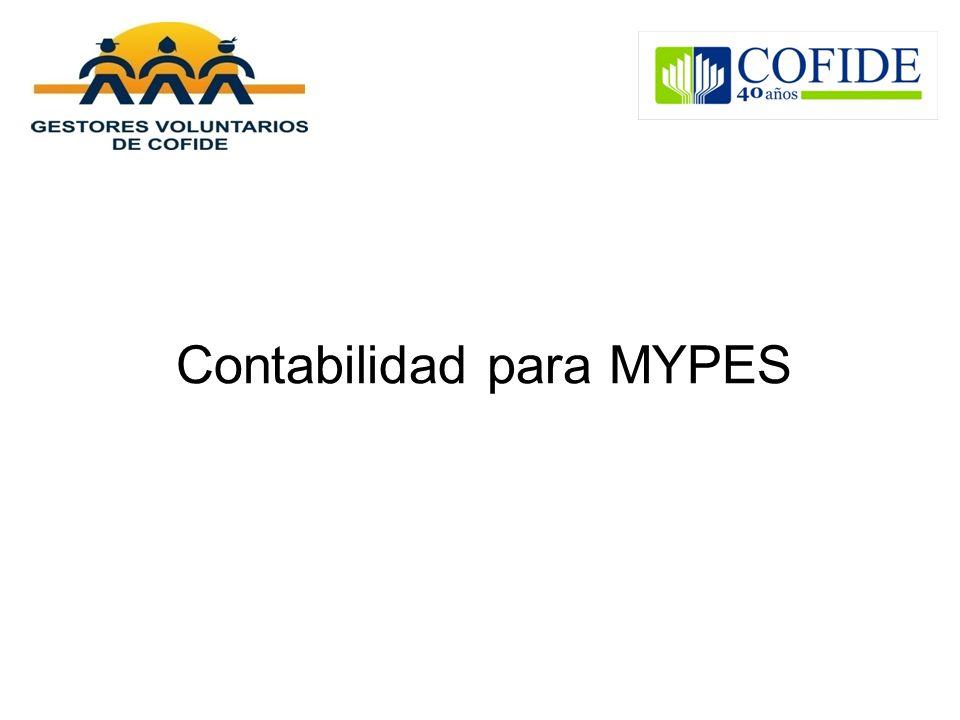 Contabilidad para MYPES