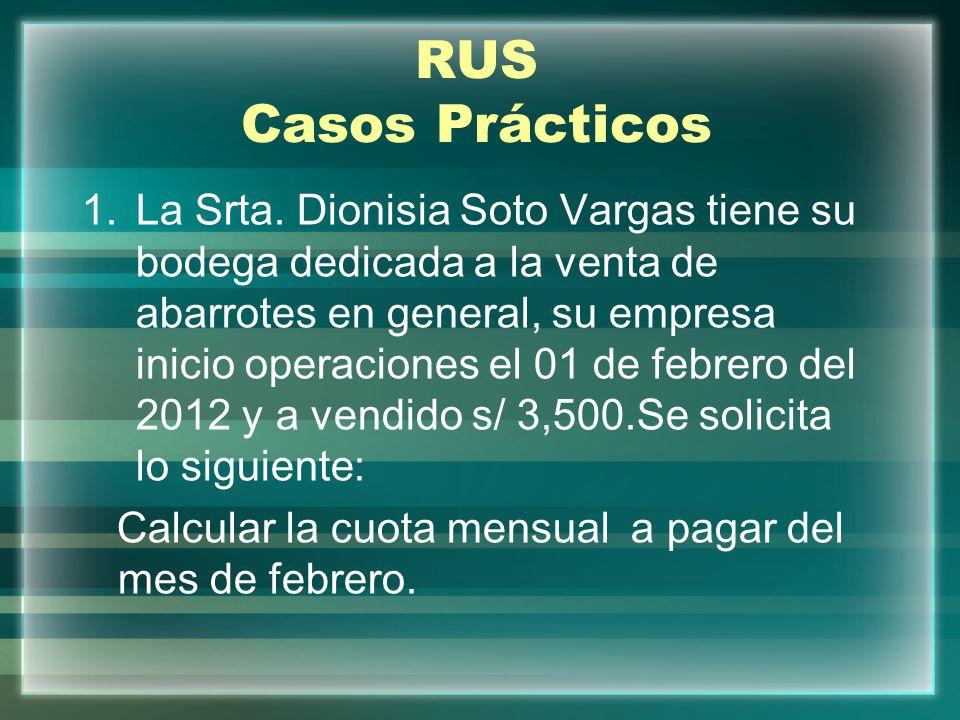 RUS Casos Prácticos