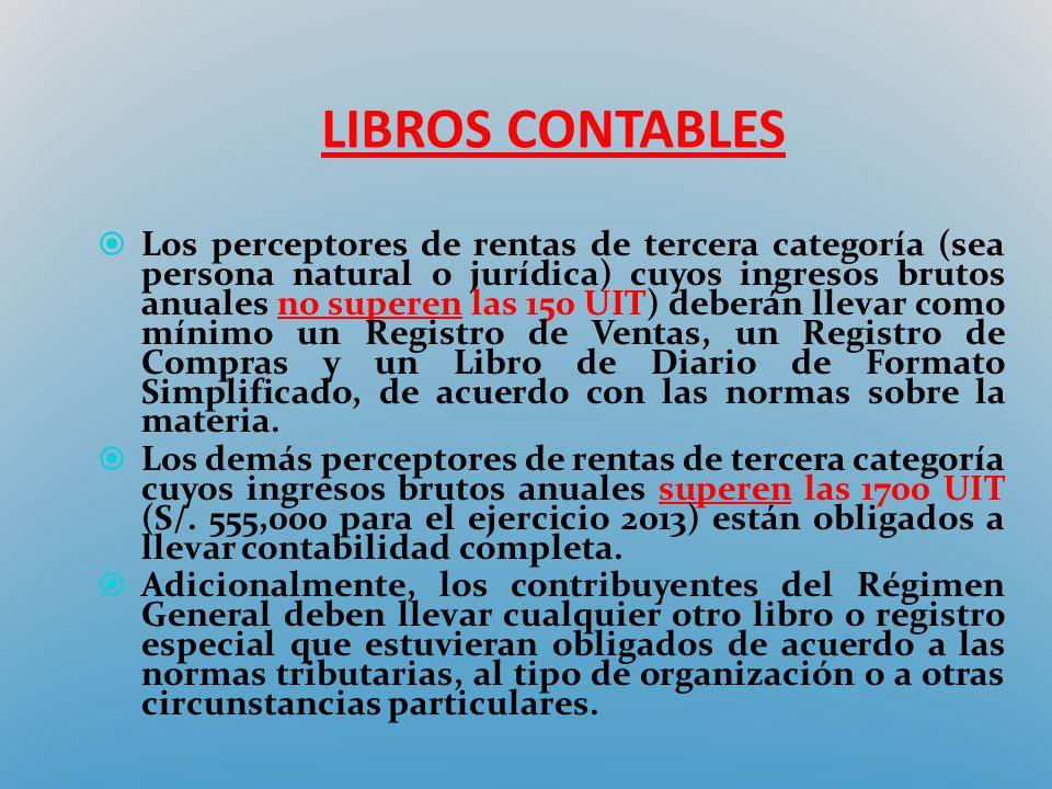 LIBROS CONTABLES