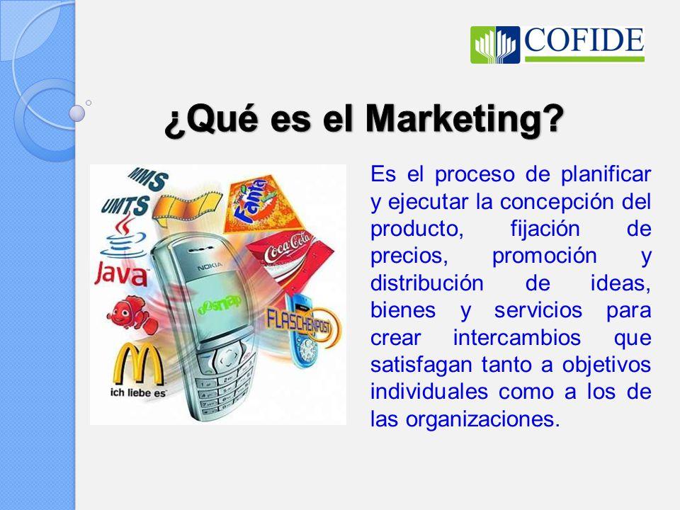 ¿Qué es el Marketing