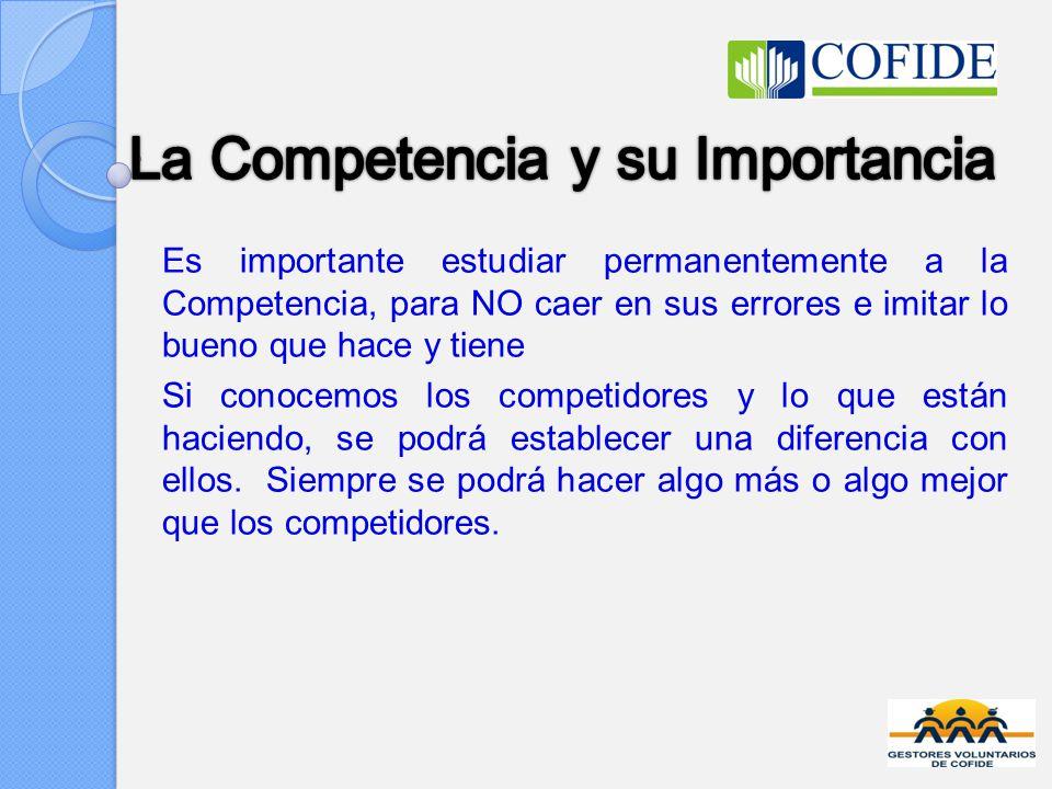 La Competencia y su Importancia