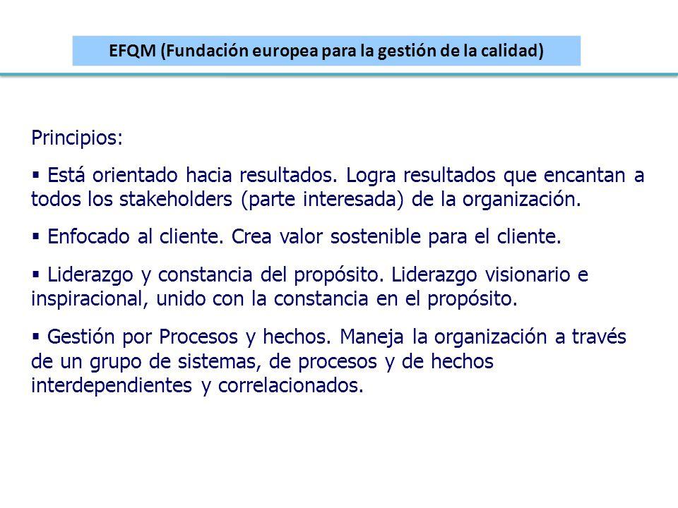 EFQM (Fundación europea para la gestión de la calidad)