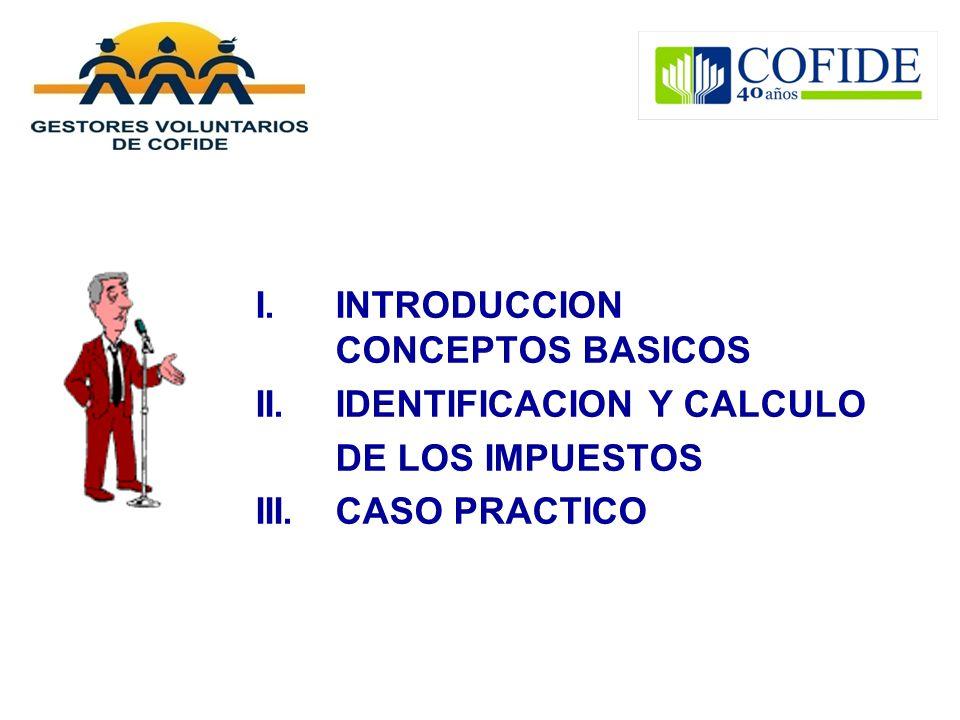 I. INTRODUCCION CONCEPTOS BASICOS