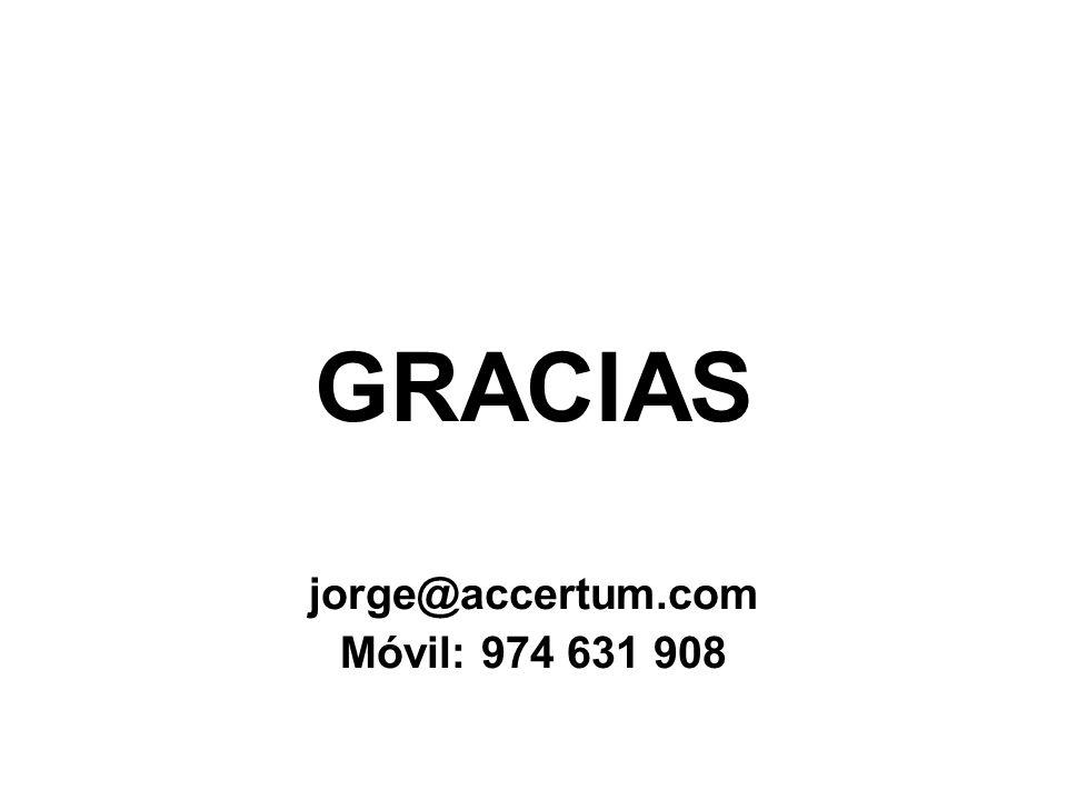 GRACIAS jorge@accertum.com Móvil: 974 631 908