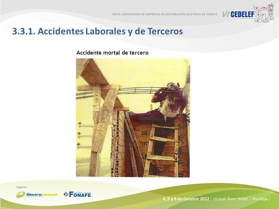 3.3.1. Accidentes Laborales y de Terceros