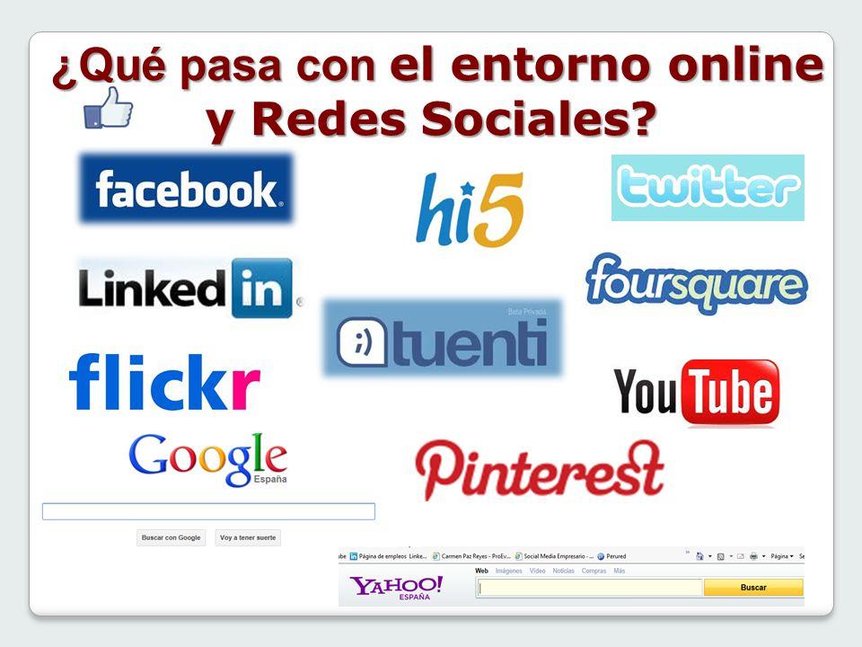 ¿Qué pasa con el entorno online y Redes Sociales