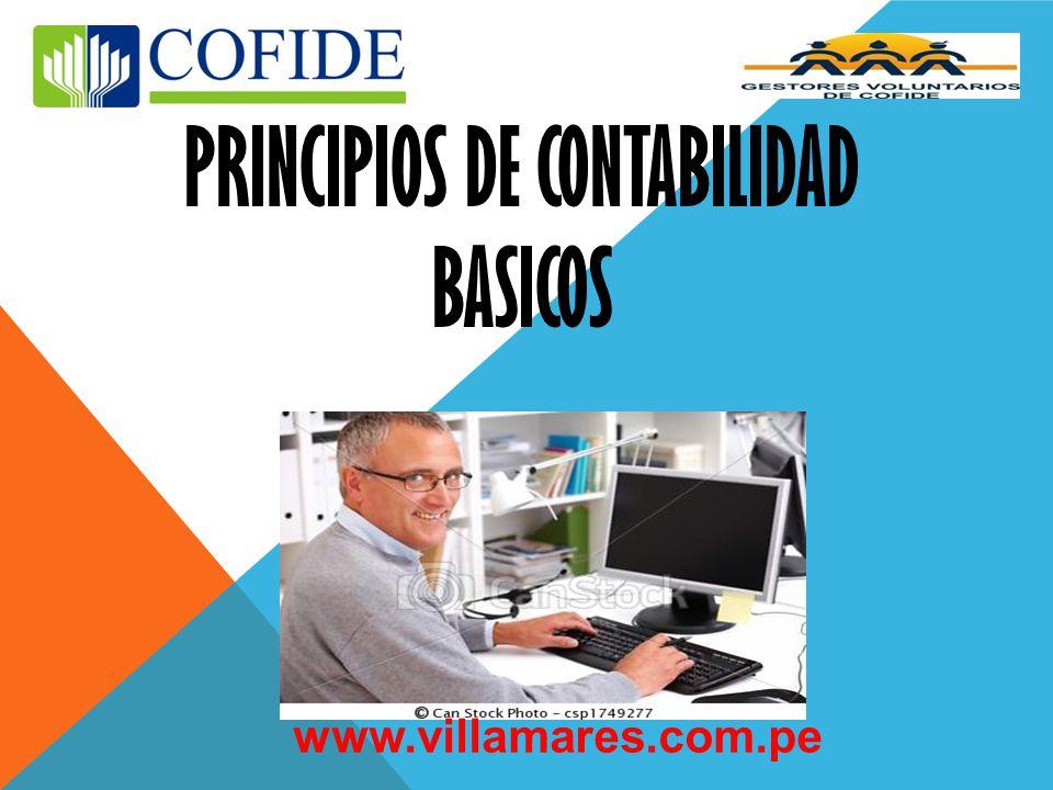 PRINCIPIOS DE CONTABILIDAD BASICOS