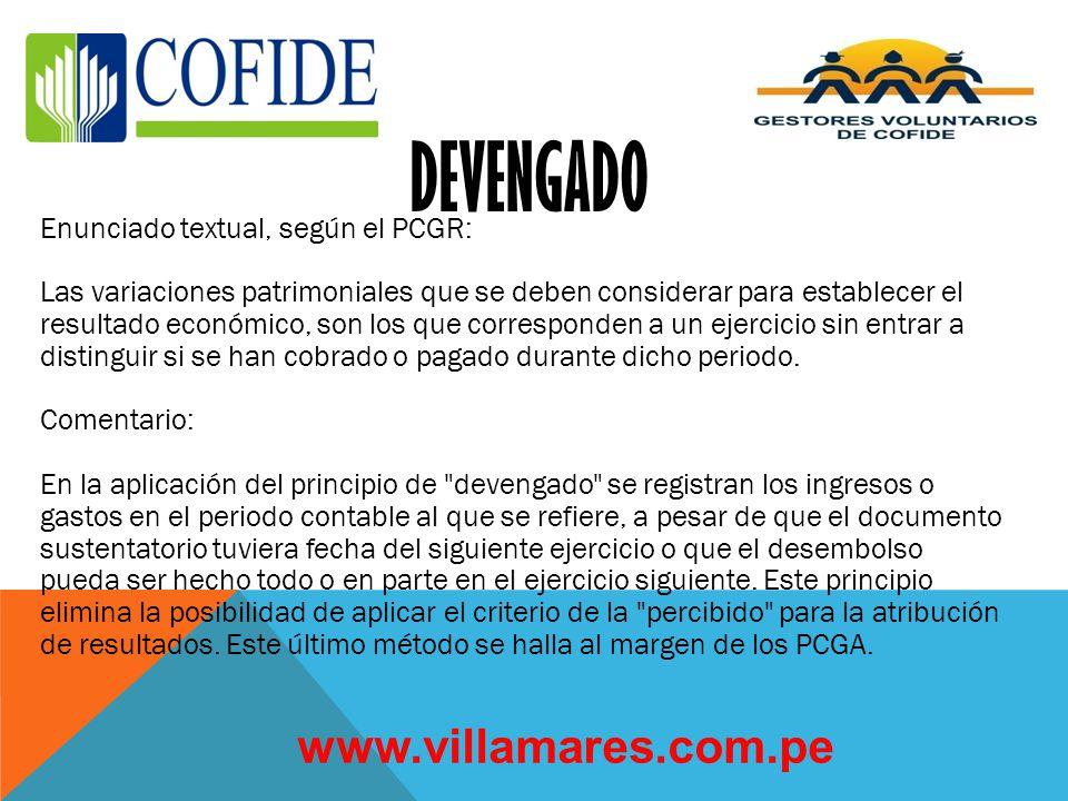 DEVENGADO www.villamares.com.pe