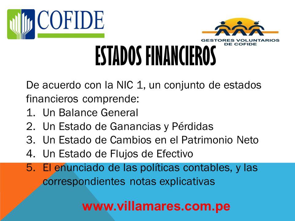 ESTADOS FINANCIEROS www.villamares.com.pe