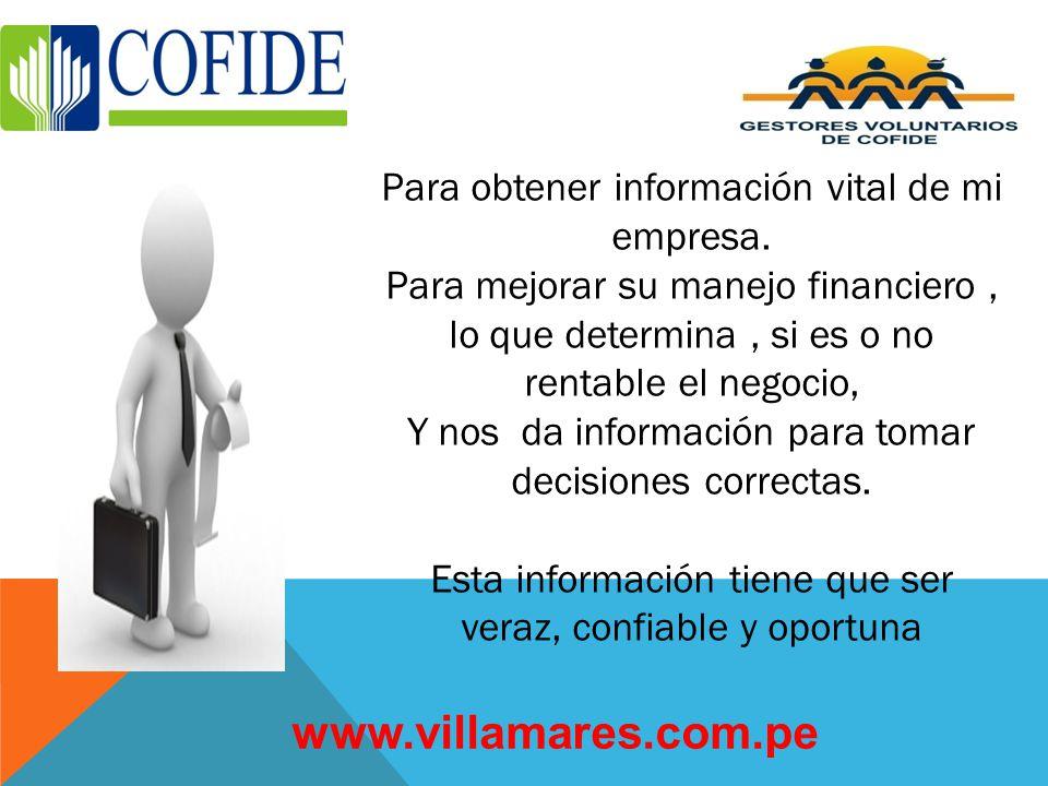 www.villamares.com.pe Para obtener información vital de mi empresa.