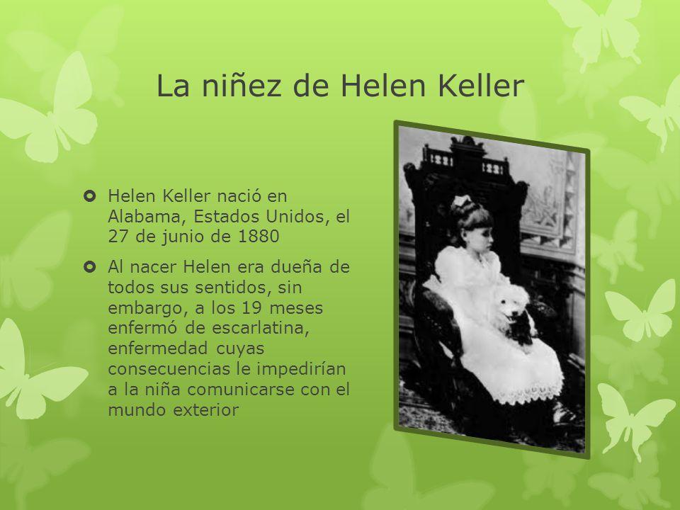 La niñez de Helen Keller