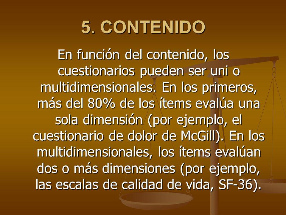 5. CONTENIDO