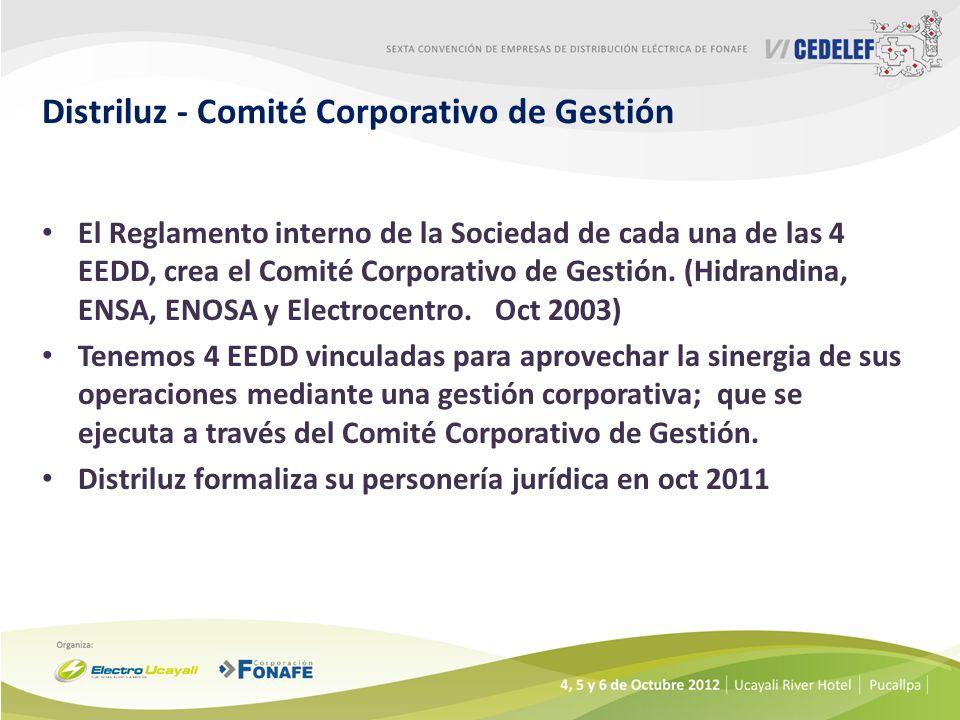 Distriluz - Comité Corporativo de Gestión