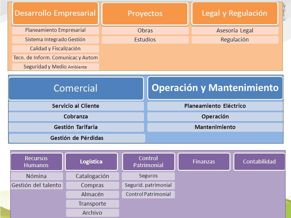 Estructura Organizacional basada en procesos