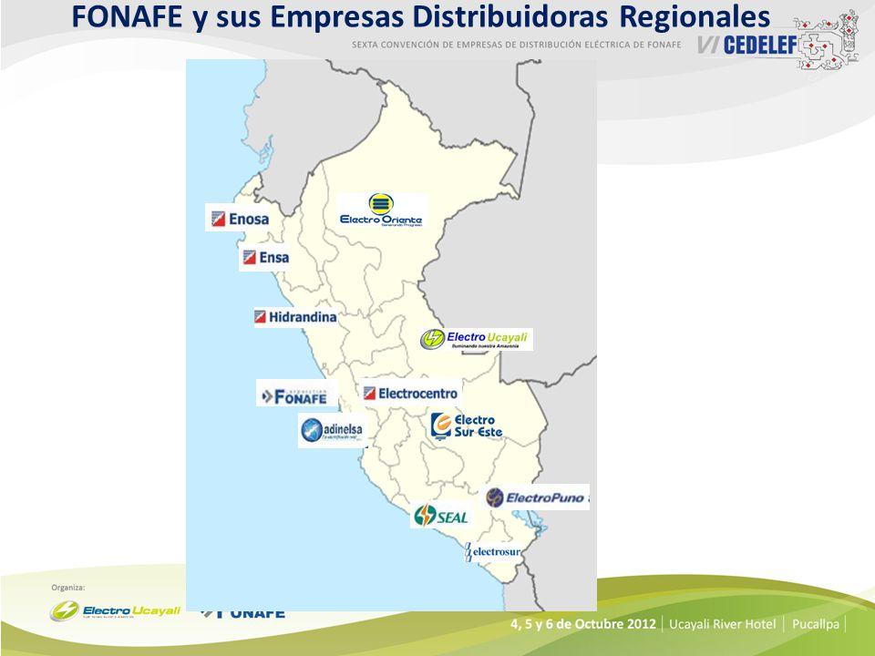 FONAFE y sus Empresas Distribuidoras Regionales