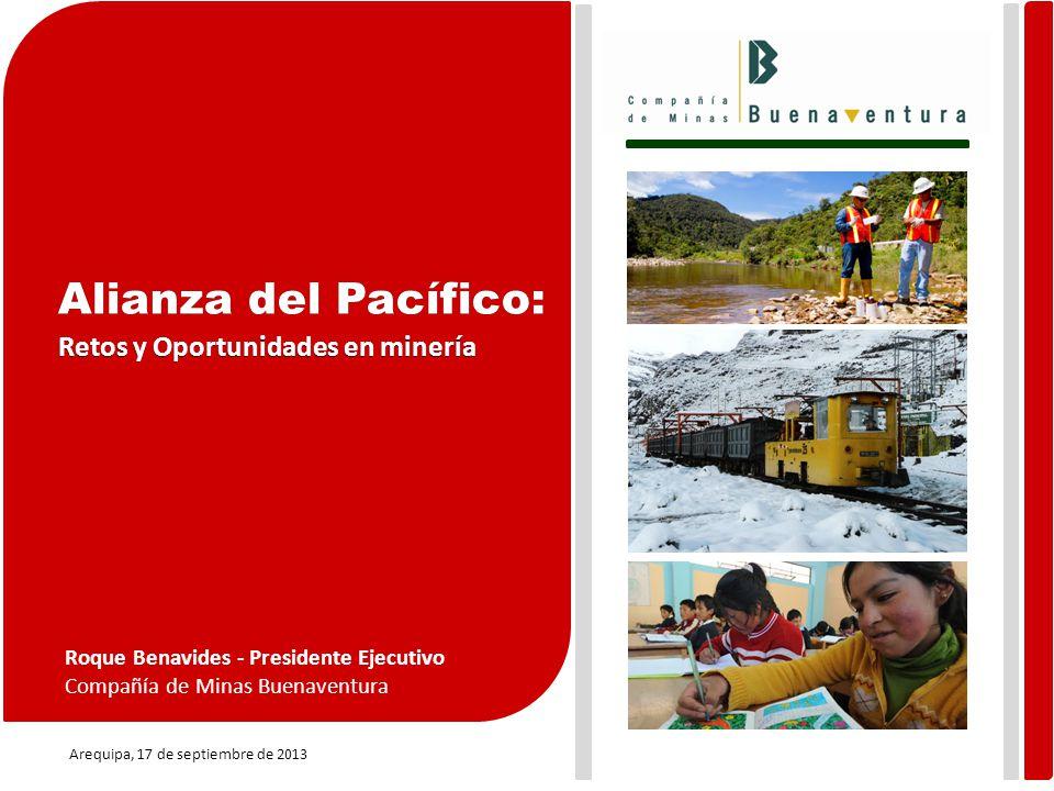 Alianza del Pacífico: Retos y Oportunidades en minería