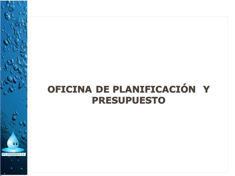 Oficina de planificación y presupuesto