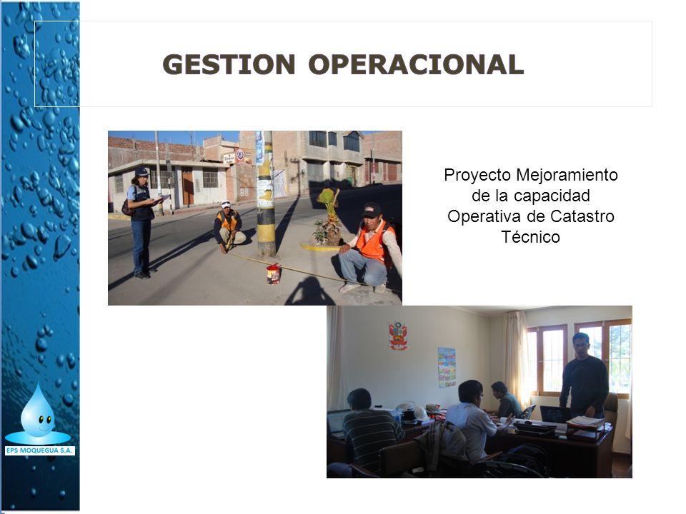 Proyecto Mejoramiento de la capacidad Operativa de Catastro Técnico