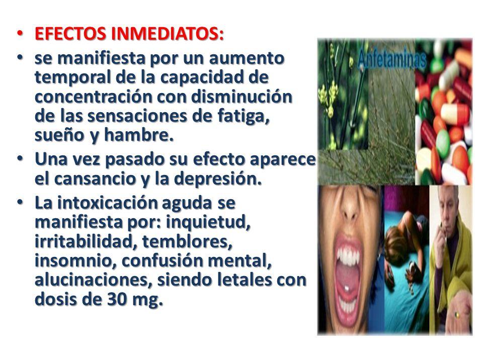 EFECTOS INMEDIATOS: