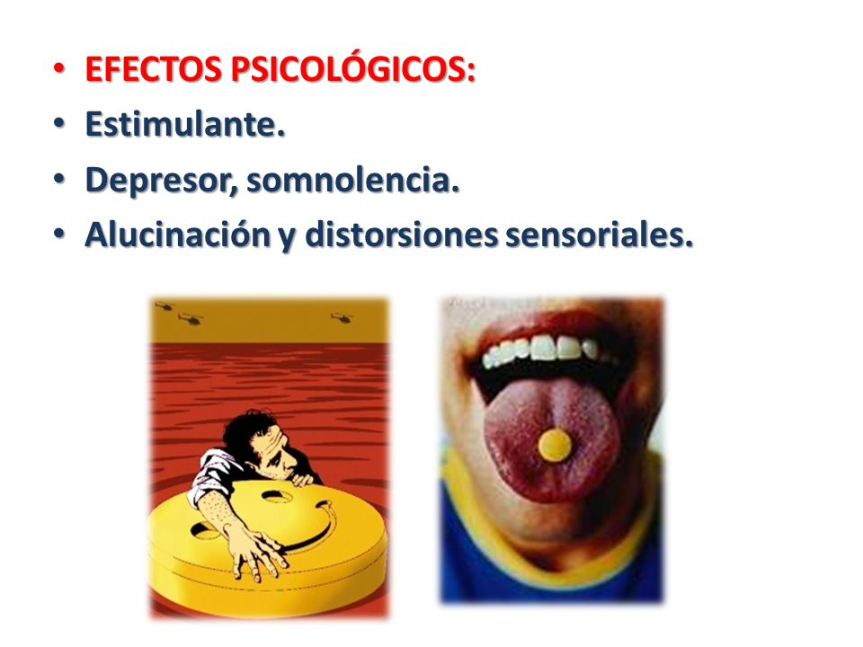 EFECTOS PSICOLÓGICOS: