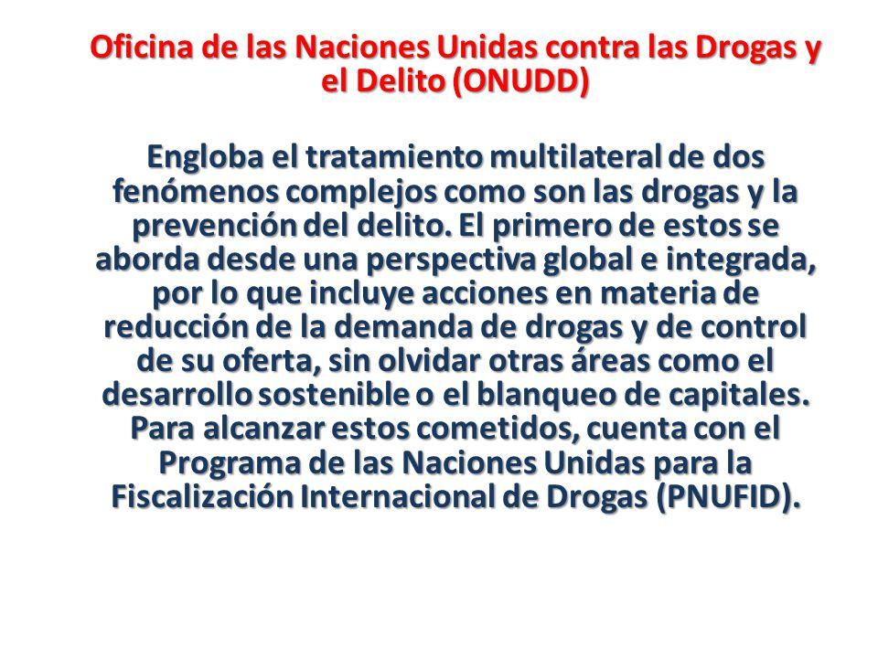 Oficina de las Naciones Unidas contra las Drogas y el Delito (ONUDD)