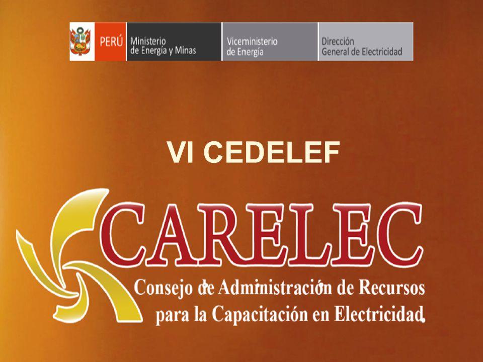 VI CEDELEF Ministerio de Energía y Minas