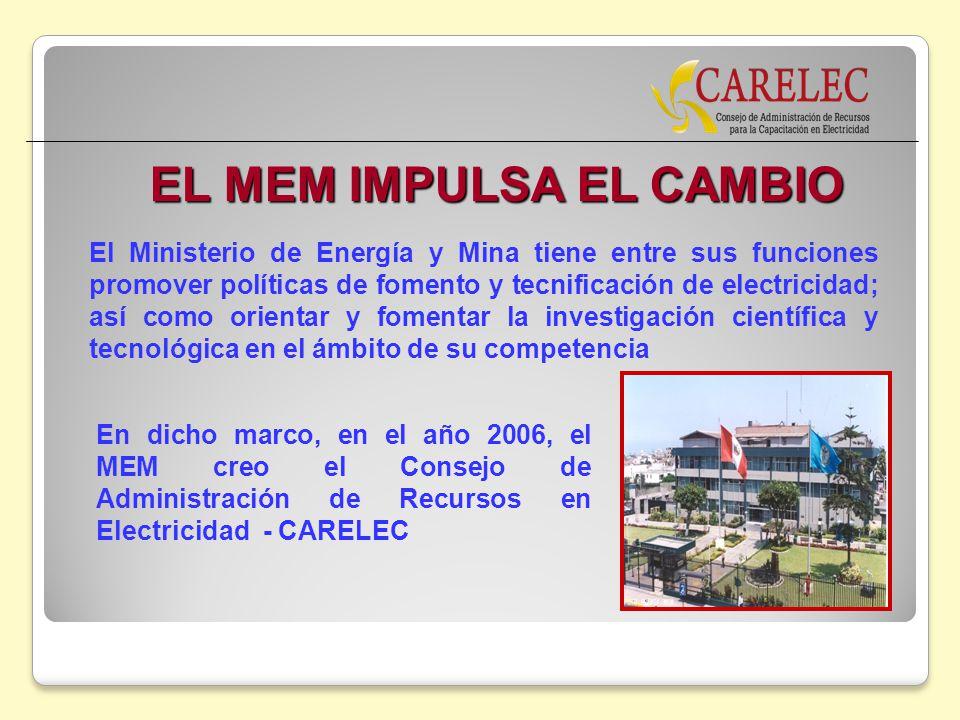 EL MEM IMPULSA EL CAMBIO