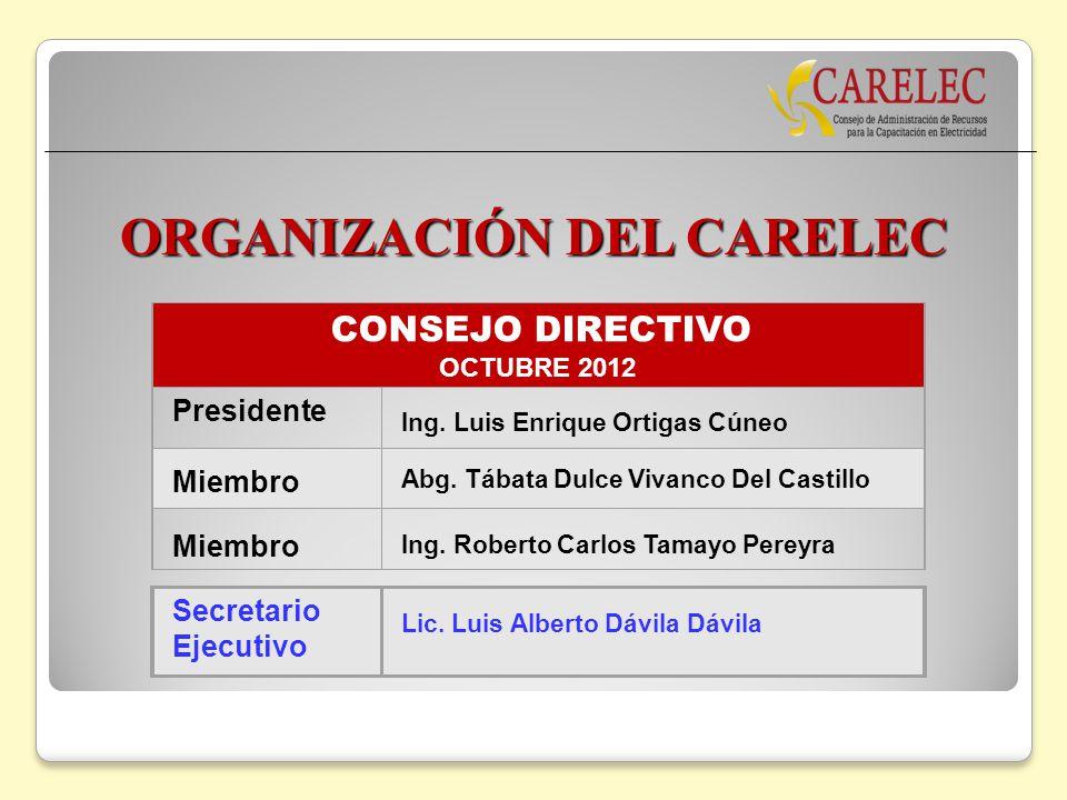 ORGANIZACIÓN DEL CARELEC